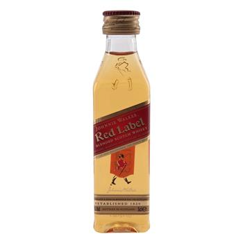 Johnnie Walker Red Label Miniatureflaske 40% 0,05 l.