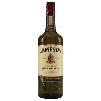 Jameson Irish Whiskey 40% 1 l.