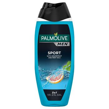Palmolive Shower gel Men Sport w. Grapefruit and Mint 500 ml