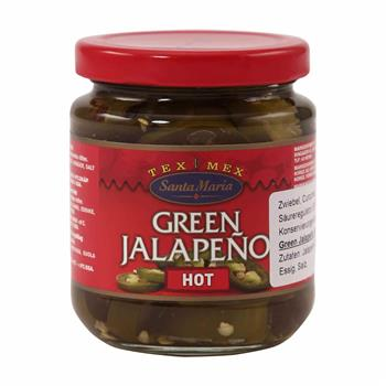 Santa Maria Tex Mex Green Jalapeno Hot 215 g