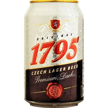 1795 Original Czech Lager Dark 4,5% 24x0,33 l.