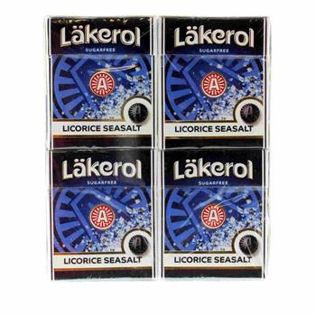 Läkerol Sea Salt 4 x 25 g