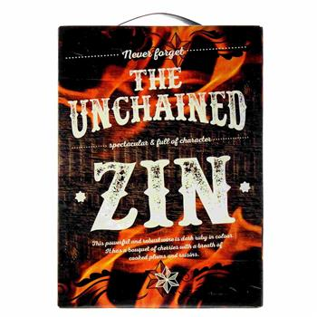 The Unchained Zinfandel 3 l. BIB