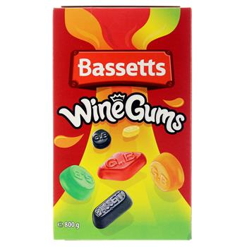 Bassetts Winegums 800 g
