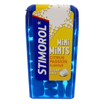 Stimorol Mini Mints Citrus sukkerfri