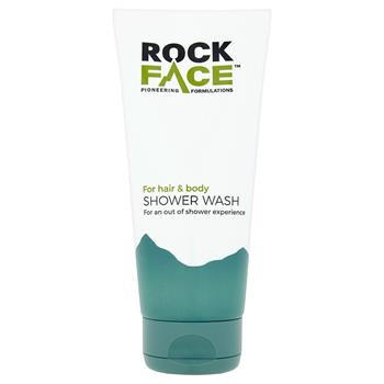 RockFace Shower Wash 200 ml.