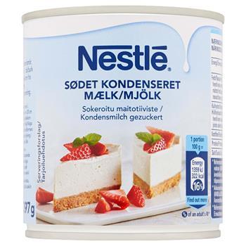 Nestlé Kondenseret Mælk Grænsehandel Til Billige Priser