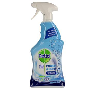 Dettol Trigger Power & Pure Universal Rengøring 750 ml.