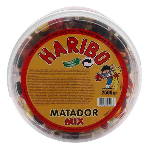 Kendte Haribo Matador Mix 2,5 - Grænsehandel til billige priser LY-47