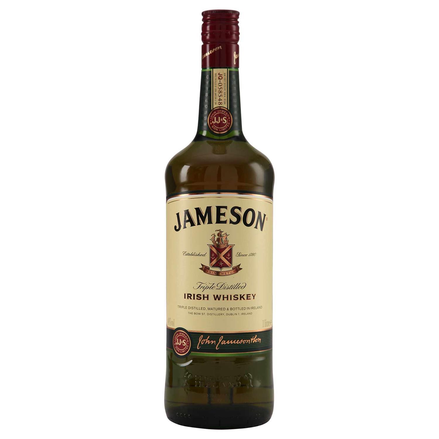Fin Jameson Irish Whiskey - Grænsehandel til billige priser IO-42