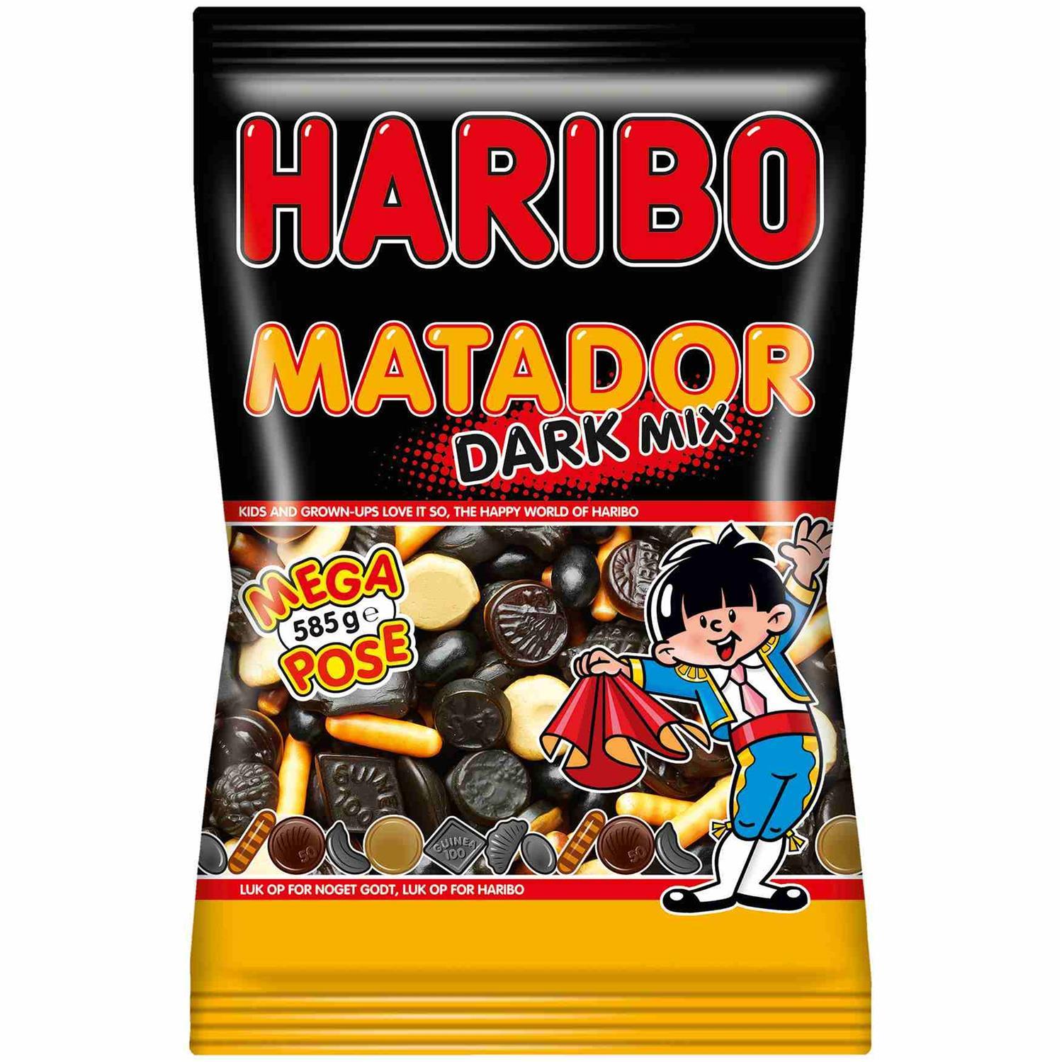 Smuk Haribo Matador Mix Dark 585 g JP-02